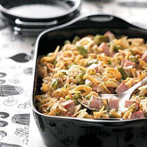 Ham & Asparagus Casserole Recipe