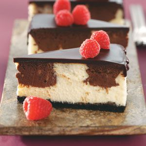 Chocolate Raspberry Cheesecake Recipe