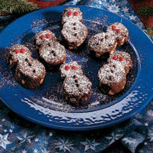 Winter Wonderland Snowmen Brownies