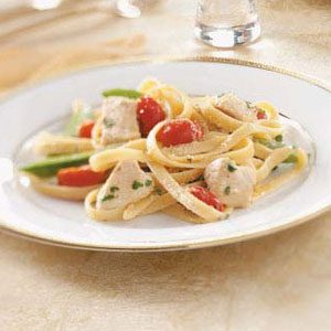 Chicken & Vegetable Alfredo Recipe