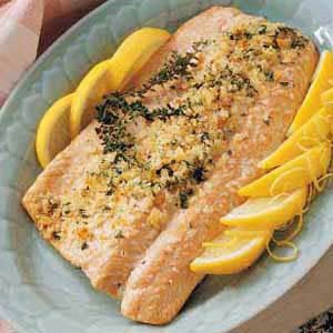 Lemon Herbed Salmon Recipe