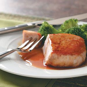 Pork Chops with Citrus Glaze Recipe