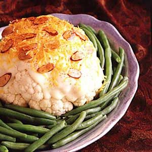 Cauliflower with Almonds Recipe
