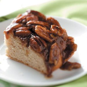 Makeover Pecan Upside-Down Cake Recipe