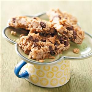 Peanut Butter Granola Mini Bars Recipe