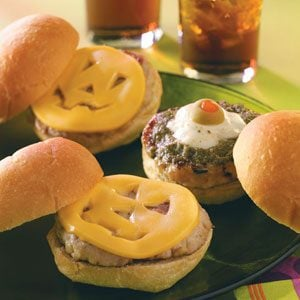 Ogre and Pumpkin Sliders Recipe