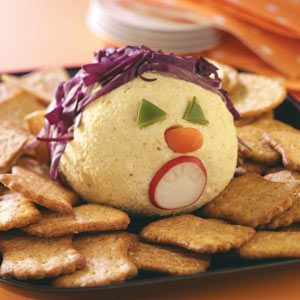 Monster Curried Cheese Ball Recipe