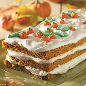 Pumpkin Patch Torte Recipe