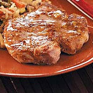 Homemade Maple Glazed Pork Chops Recipe