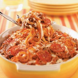 Supreme Pizza Casserole Recipe