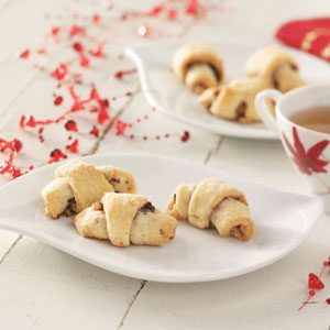 Raspberry Chocolate Rugelach Recipe