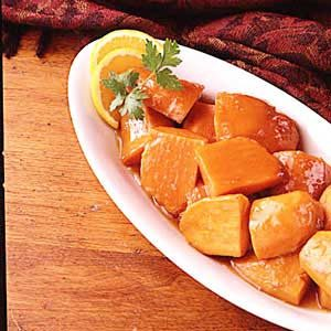 Sweet Potatoes for Two Recipe