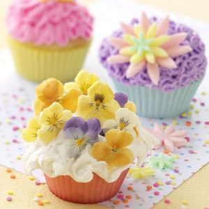 Flower Power Cupcakes Recipe