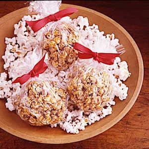 Old-Time Popcorn Balls Recipe