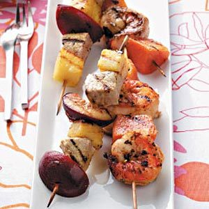 Land and Sea Kabobs Recipe