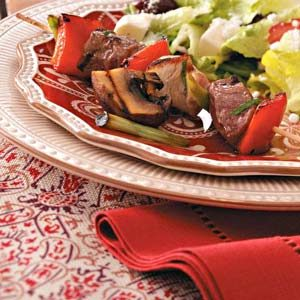 Lamb & Chicken Kabobs Recipe