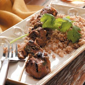 Moroccan Beef Kabobs Recipe