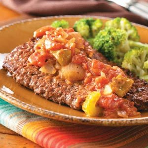 Creole Steaks Recipe