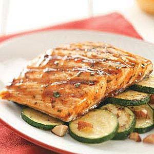 Thai Barbecued Salmon Recipe