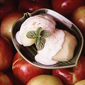 Nutmeg Sauced Apples Recipe