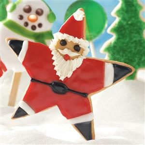 Santa Star Cookies Recipe