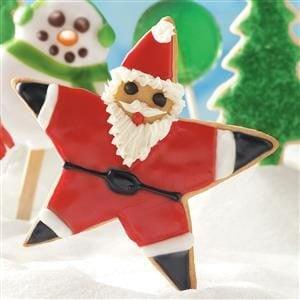 Santa Star Cookies Recipe