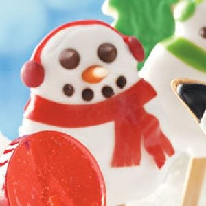 Jolly Snowman Cookies Recipe
