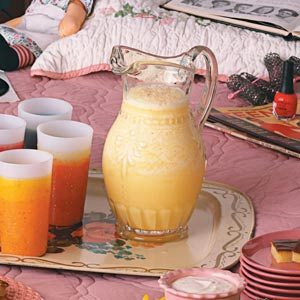 Orange Smoothies Recipe