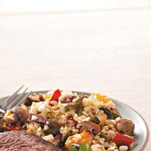 Roasted Veggie Orzo Recipe