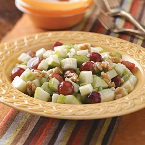 Apple Grape Salad Recipe