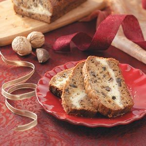 Ribbon Nut Bread Recipe