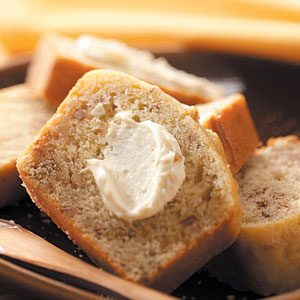Orange Nut Bread & Cream Cheese Spread Recipe