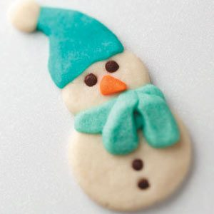 Butter Snowmen Cookie