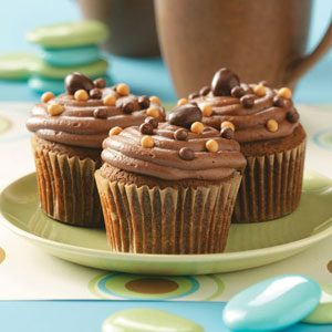 Spice Cupcakes with Mocha Frosting Recipe