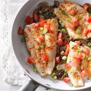 Peppered Sole Recipe