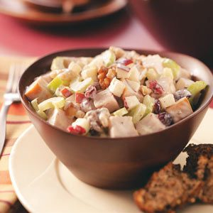 Turkey & Fruit Salad Recipe