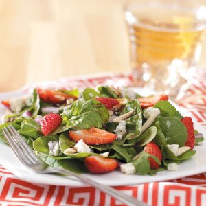 Strawberry Arugula Salad Recipe