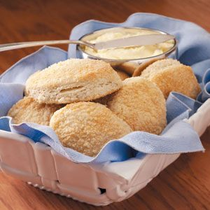 Easy Parmesan Biscuits Recipe