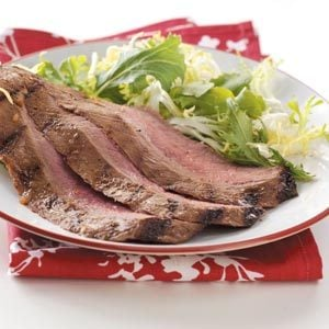 Savory Marinated Flank Steak Recipe