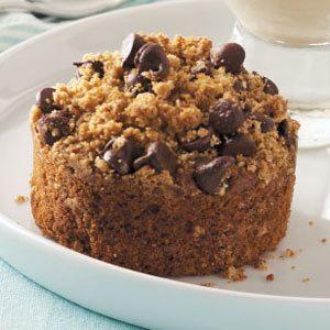 Peanut Butter Crumb Cakes Recipe