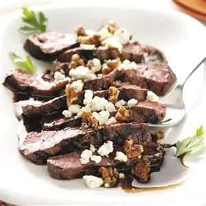 Maple & Blue Cheese Steak Recipe