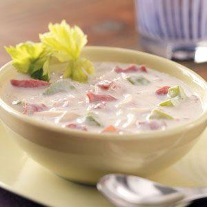 Creamy Reuben Soup