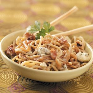 Gorgonzola Pasta with Walnuts Recipe