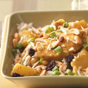 Coconut Curry Chicken Recipe