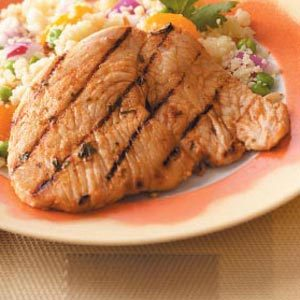 Citrus Grilled Turkey Cutlets