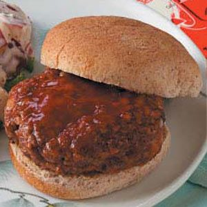 Baked Hamburgers Recipe