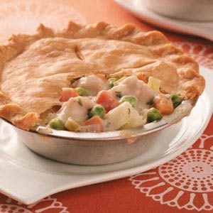 Make-Ahead Turkey Potpie Recipe