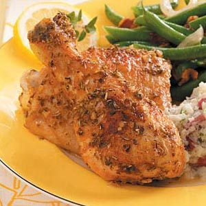 Lemon Chicken with Oregano Recipe