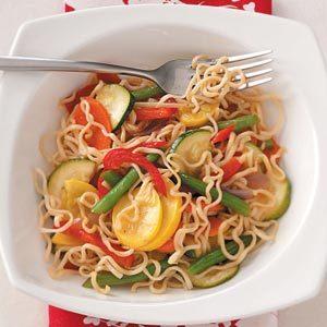 Veggie Noodle Side Dish Recipe