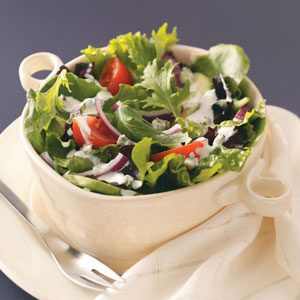 Chunky Blue Cheese Salad Dressing Recipe